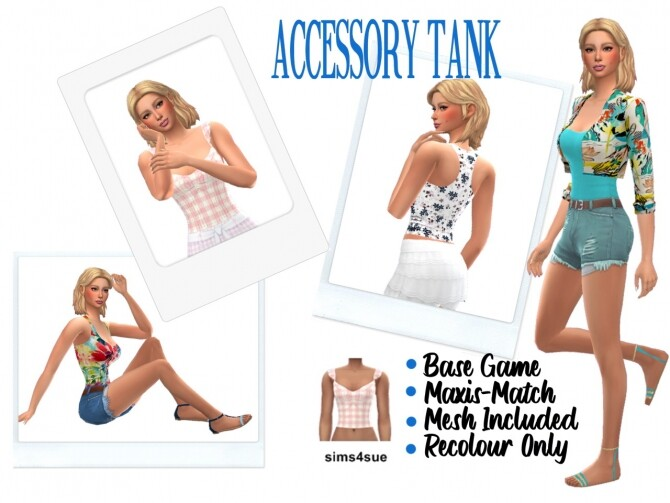 ACCESSORY TANK at Sims4Sue image 1852 670x503 Sims 4 Updates