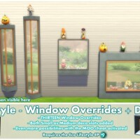 Eco Lifestyle Windows Deco Slots Overrides by Bakie