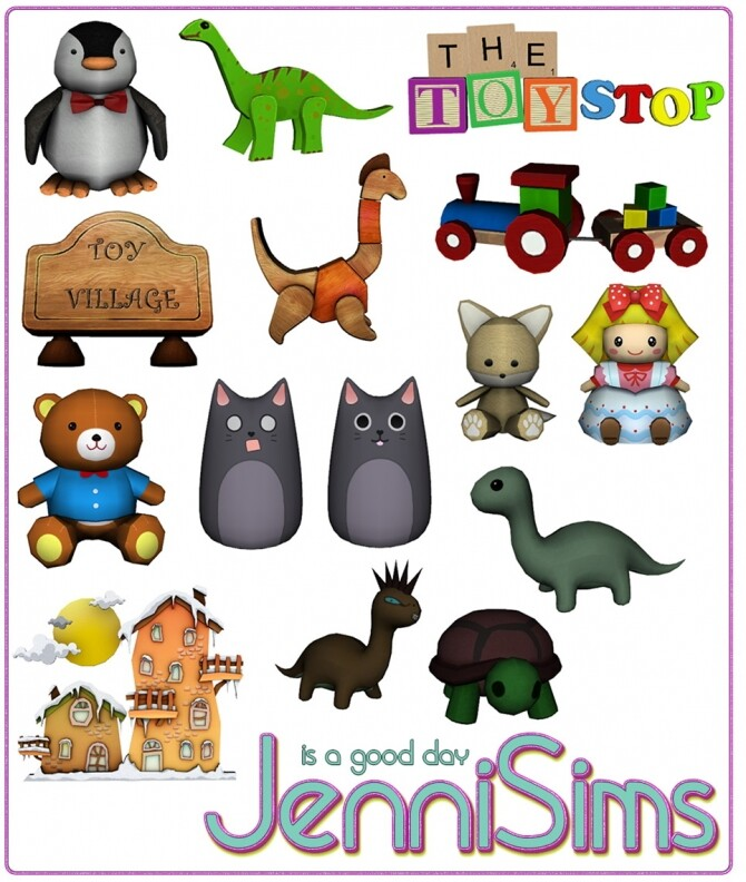 CLUTTER DECORATIVE KIDS 14 ITEMS at Jenni Sims image 1892 670x792 Sims 4 Updates
