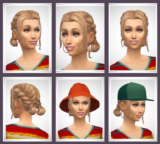 Sims 4 April Hair at Birksches Sims Blog