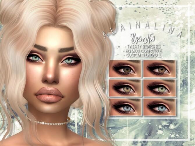 Eyes No8 at AlainaLina image 1902 670x503 Sims 4 Updates