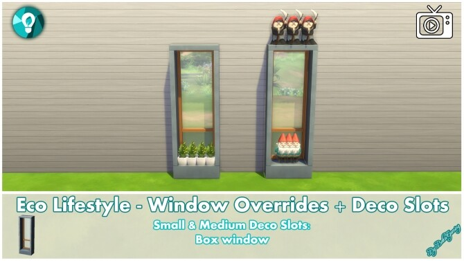 Eco Lifestyle Windows + Deco Slots Overrides by Bakie at Mod The Sims image 1908 670x377 Sims 4 Updates