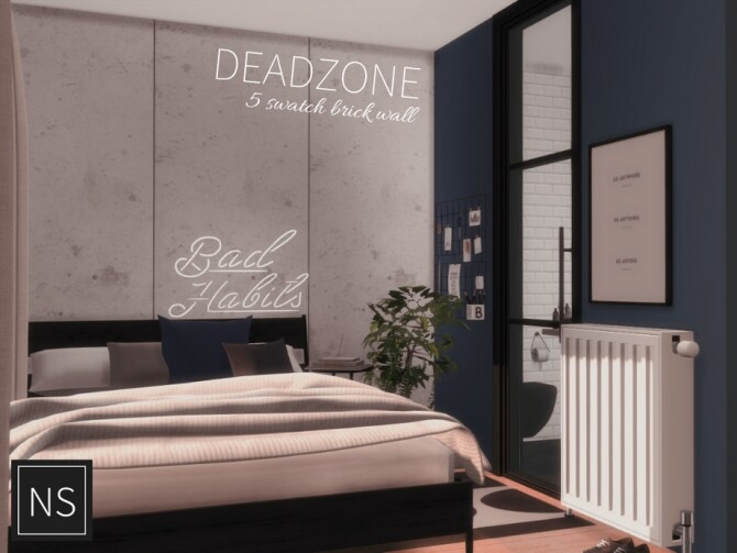 Sims 4 Dead Zone Walls by Networksims at TSR