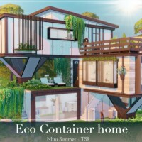 Eco Container home by Mini Simmer