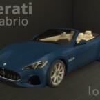Maserati GranCabrio Sport by LorySims