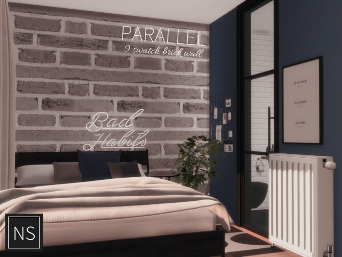 Sims 4 Parallel Bricks by Networksims at TSR