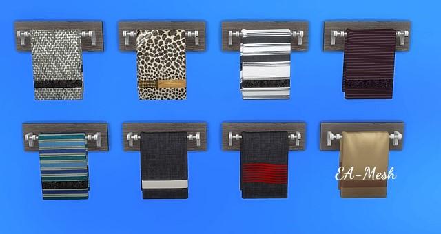 Sims 4 Towel Rack by Oldbox at All 4 Sims