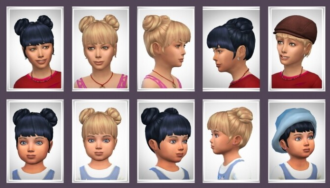 Sims 4 Molly Hair at Birksches Sims Blog