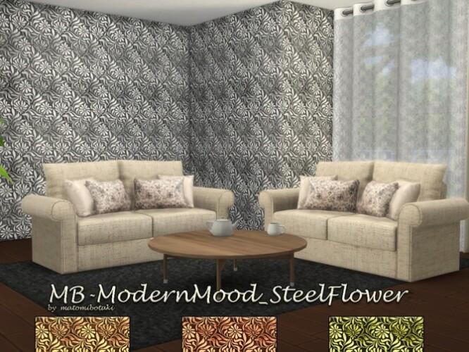 Modern Mood Steel Flower wallpaper by matomibotaki