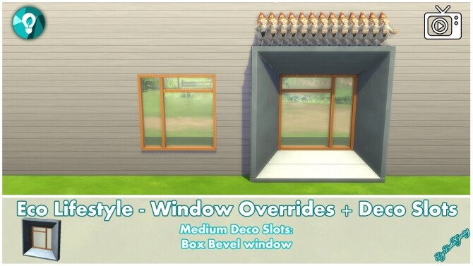 Eco Lifestyle Windows + Deco Slots Overrides by Bakie at Mod The Sims image 19212 670x377 Sims 4 Updates