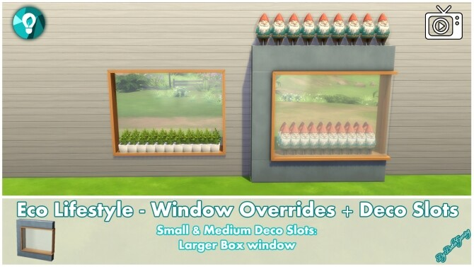 Eco Lifestyle Windows + Deco Slots Overrides by Bakie at Mod The Sims image 19311 670x377 Sims 4 Updates
