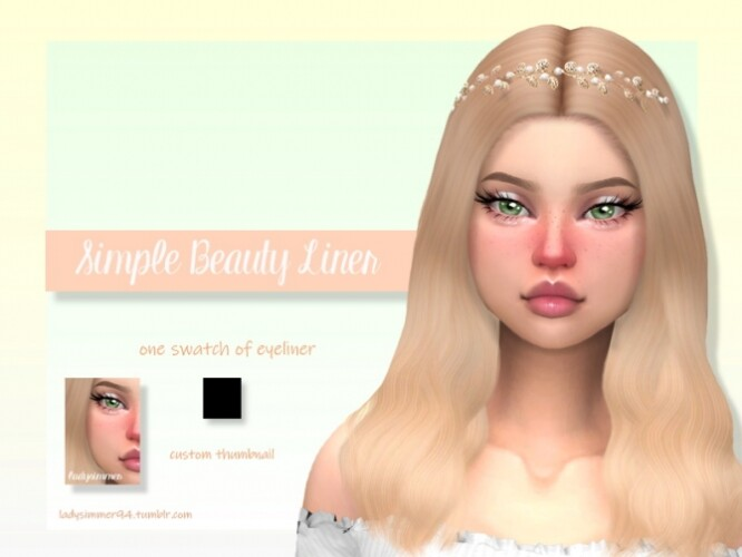 Simple Beauty Liner by LadySimmer94