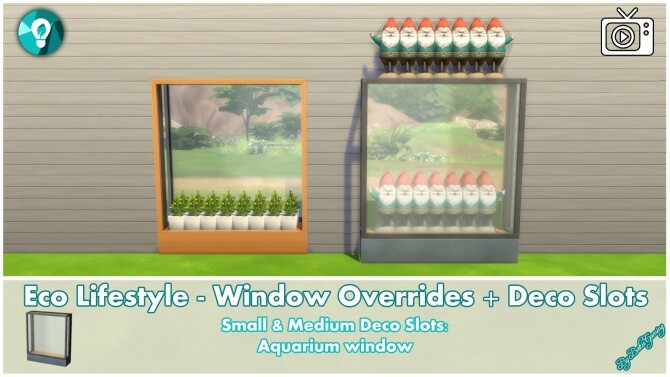 Eco Lifestyle Windows + Deco Slots Overrides by Bakie at Mod The Sims image 19410 670x377 Sims 4 Updates
