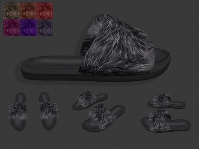 Fur Flip-Flop HQ