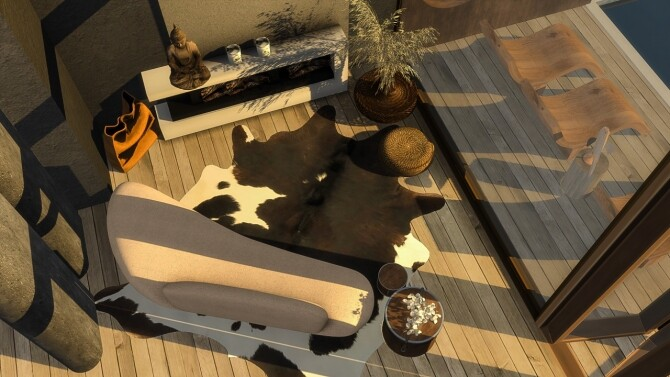 Cow skin rugs vol.1 at Simspiration Builds image 1956 670x377 Sims 4 Updates