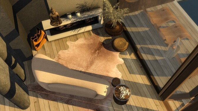 Cow skin rugs vol.1 at Simspiration Builds image 1966 670x377 Sims 4 Updates