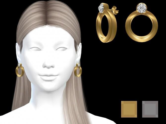 Diamond earrings 01 at Luxuriah Sims image 1973 670x503 Sims 4 Updates