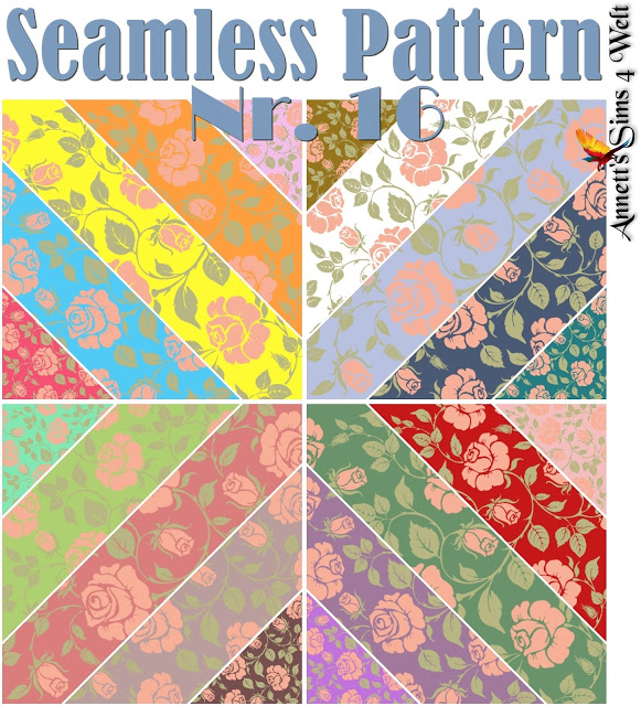 Seamless Pattern Nr. 16 at Annett's Sims 4 Welt image 1977 Sims 4 Updates