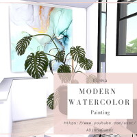 Modern Painting Watercolor