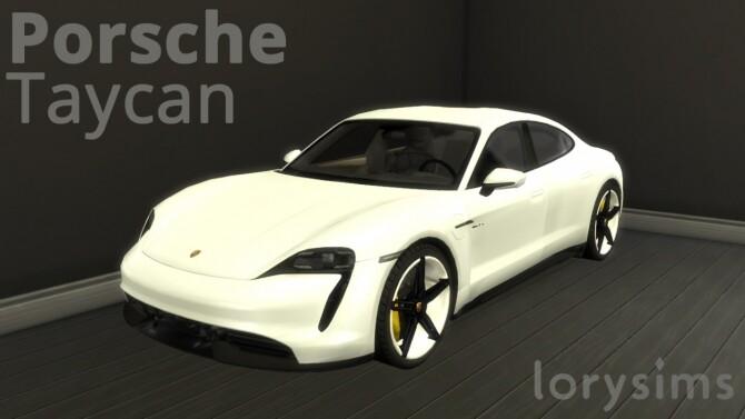 Porsche Taycan by LorySims