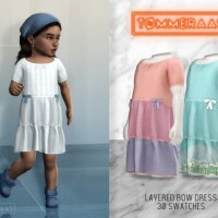 Layered Bow Dress 15