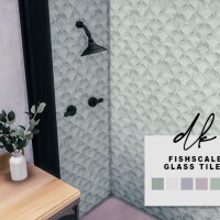 Glass Tile Walls