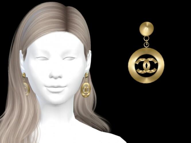 GOLD SUNBURST DANGLE EARRINGS