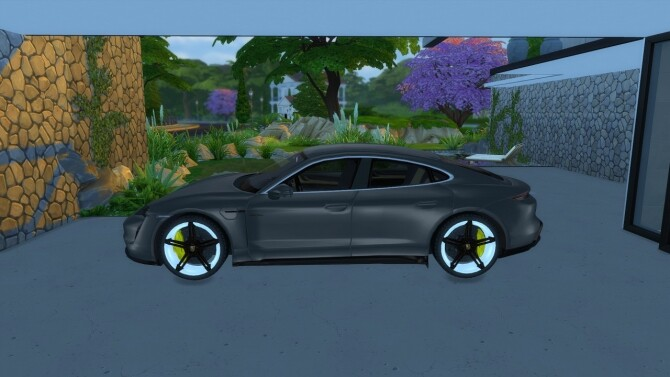 Porsche Taycan by LorySims image 1996 670x377 Sims 4 Updates