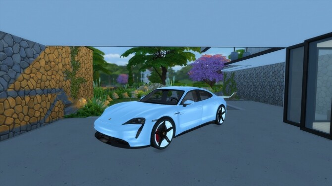 Porsche Taycan by LorySims image 2006 670x377 Sims 4 Updates