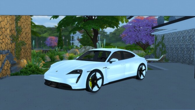 Porsche Taycan by LorySims image 20211 670x377 Sims 4 Updates