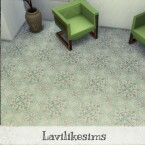 Compass Floor Tile by lavilikesims