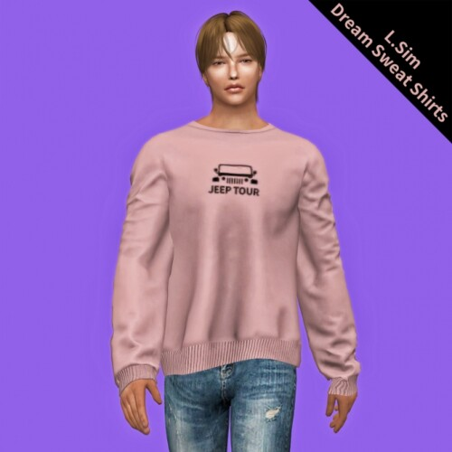 male dream sweat shirts