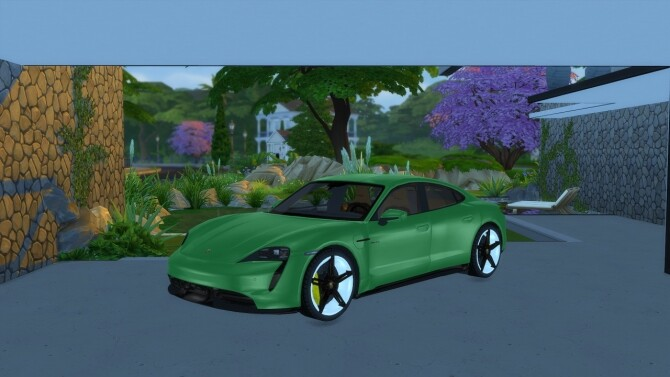 Porsche Taycan by LorySims image 2045 670x377 Sims 4 Updates