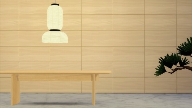 Sims 4 N DT01 dining table at Meinkatz Creations