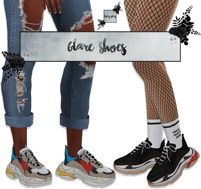 Glare sneakers