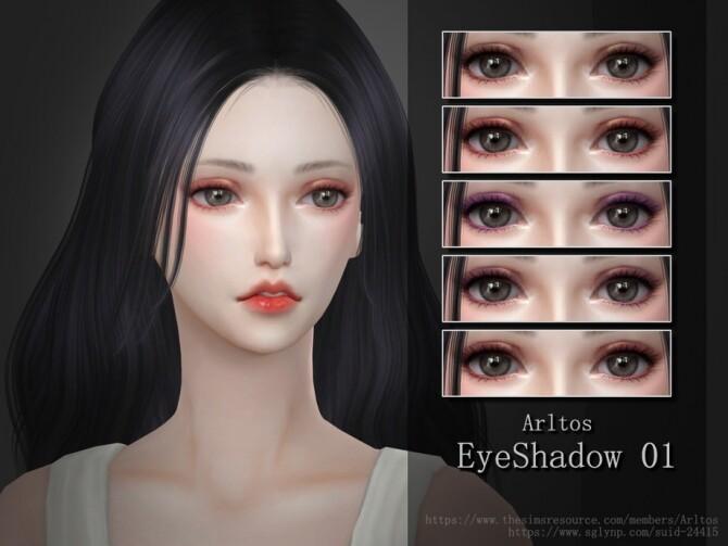 Sims 4 Eyeshadow 01 by Arltos at TSR