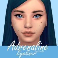 Adrenaline Eyeliner by Sagittariah
