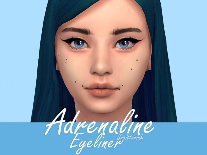 Adrenaline Eyeliner by Sagittariah at TSR image 2128 670x503 Sims 4 Updates