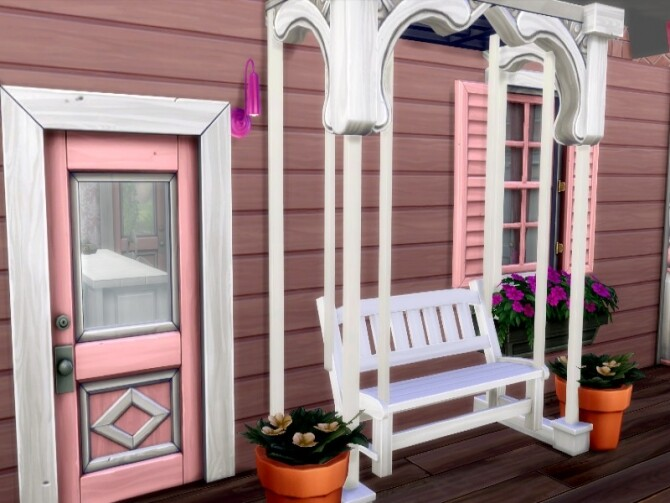 Fairytale Cottage by GenkaiHaretsu at TSR image 2130 670x503 Sims 4 Updates