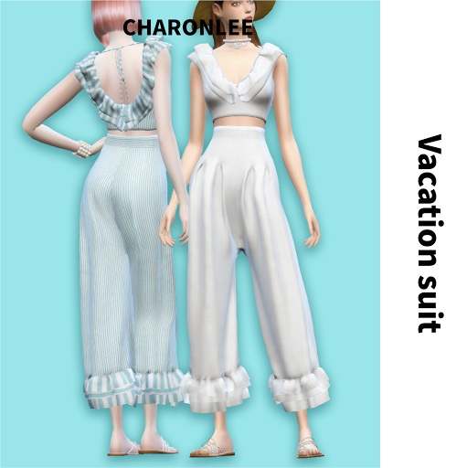 Vacation suit at Charonlee image 2134 Sims 4 Updates