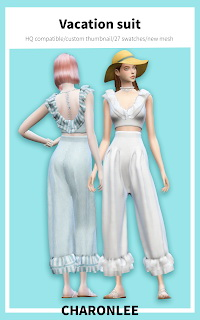 Vacation suit at Charonlee image 2143 Sims 4 Updates