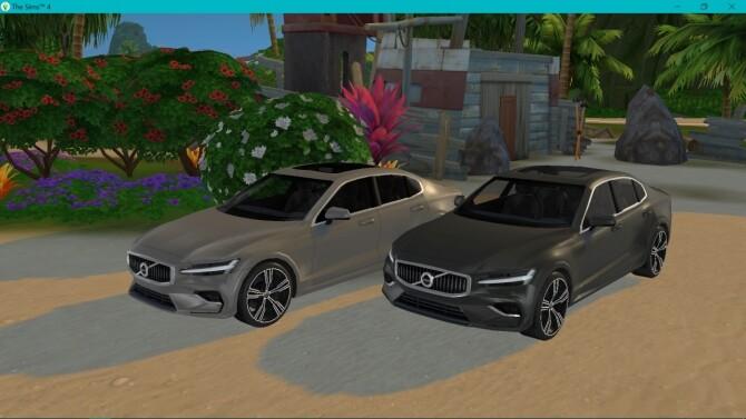 Sims 4 Volvo S60 at LorySims