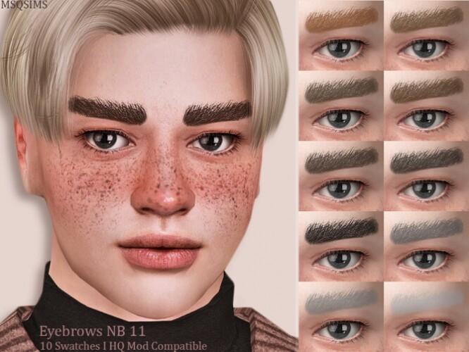 Eyebrows NB11