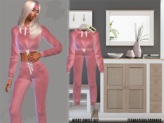 Sims 4 July Clothes Collection at Teenageeaglerunner