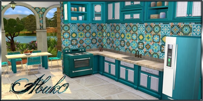 Cucina Kitchen 9 recolors