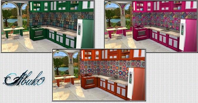 Cucina Kitchen 9 recolors at Abuk0 Sims4 image 2205 670x349 Sims 4 Updates