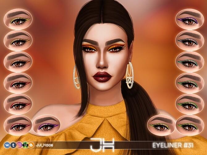 Sims 4 EYELINER #31 by Jul Haos at TSR