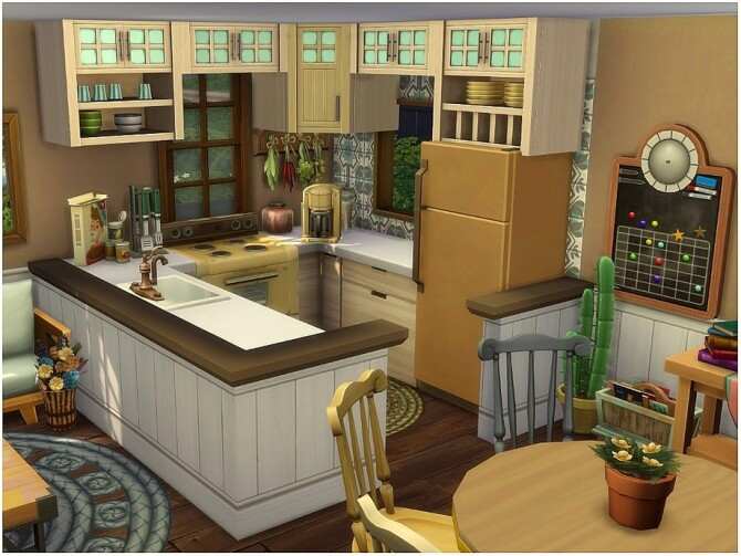 Sims 4 Old Cottage by lotsbymanal at TSR