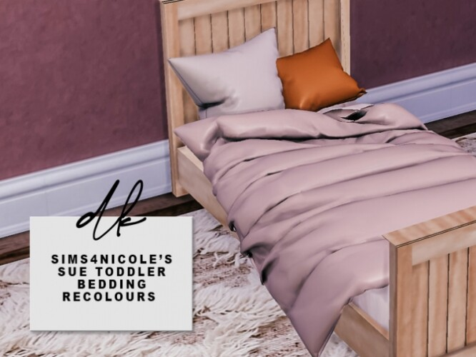 Sue Toddler Bedding Recolours