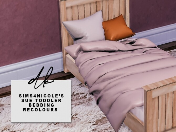 Sue Toddler Bedding Recolours at DK SIMS image 2243 670x503 Sims 4 Updates
